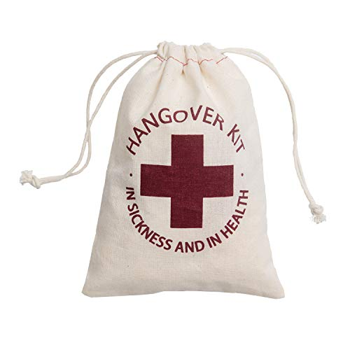 Ling's moment 10pcs Hangover Kit Bags 5