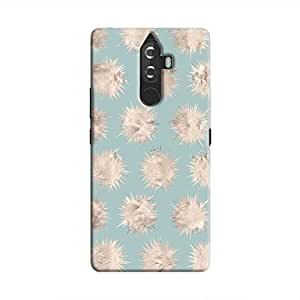 Cover It Up - Silver Star Pale Blue K8 Note Hard Case