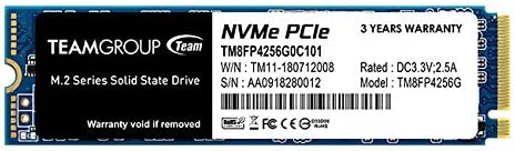 TeamGroup MP34 SSD M.2 NVMe 2280 256GB Unidad de Disco ...