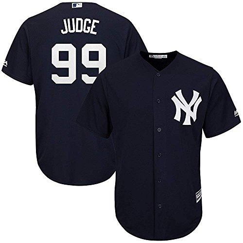 Majestic Aaron Judge New York Yankees MLB Youth Navy Alternate Cool Base Replica Jersey (Youth X-Large 18-20)