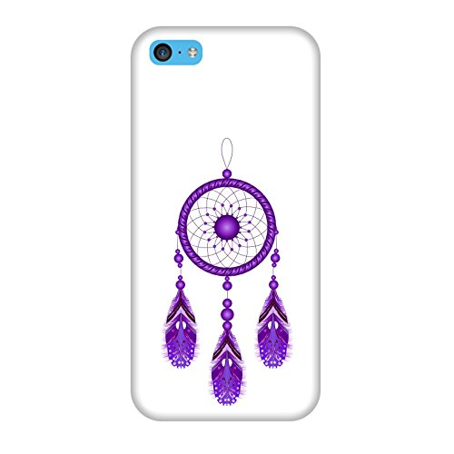 Coque Apple Iphone 5c - Attrapeur de rêves violet