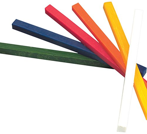 Efco Modelling Wax Sticks, Multi-Coloured, 180x10x10 mm, Pack of 6 3504800