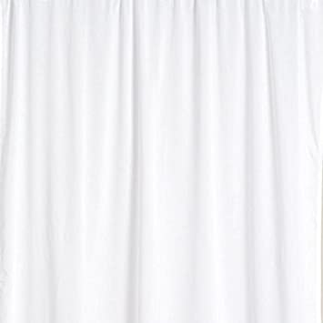Emma Barclay Thermal Blackout Curtain Lining, White, 90 x 90 Inch ...