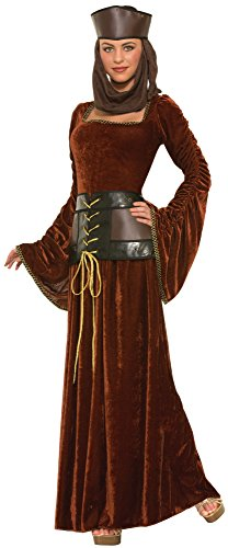 Game Inspired Halloween Costumes (Forum Novelties Women's Medieval Fantasy Medieval Lady Costume, Multi, One Size)