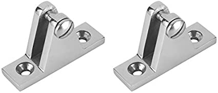 Marine Boat Deck Hinge Mount Bimini Top Fitting//Hardware 316 Stainless Steel
