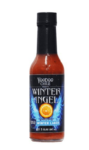 Voodoo Chili Winter Angel Hot Sauce made with Samuel Adams Winter Lager Beer - (3 Pack)