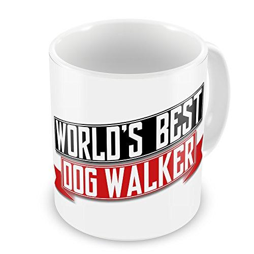 (Coffee Mug Worlds Best Dog Walker - NEONBLOND)
