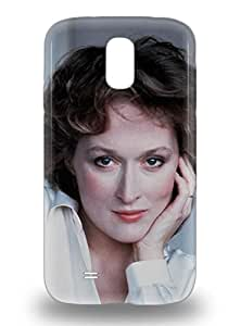 Galaxy Cover 3D PC Case Specially Made For Galaxy S4 Meryl Streep American Hollywood Female The Iron Lady Sophie S Choice Kramer Vs. Kramer ( Custom Picture iPhone 6, iPhone 6 PLUS, iPhone 5, iPhone 5S, iPhone 5C, iPhone 4, iPhone 4S,Galaxy S6,Galaxy S5,Galaxy S4,Galaxy S3,Note 3,iPad Mini-Mini 2,iPad Air )
