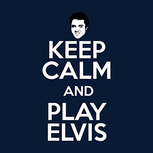 Presley Presley Women's And Elvis blue blue Keep Play Navy Calm Coto7 Hooded Sweatshirt XfqOw