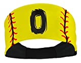 MadSportsStuff Player ID Softball Stitch Headband (Numbers 00-39)