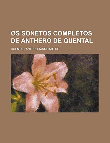 Os sonetos completos de Anthero de Quental (Portuguese Edition)