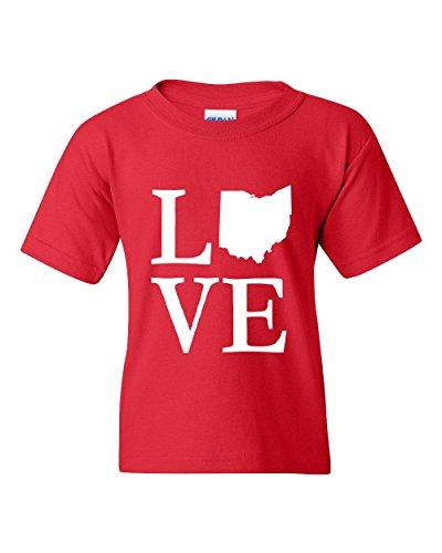 Ugo Ohio OH Cincinnati Map Bearcats Buckeyes Home of Ohio State University Unisex Youth Kids T-Shirt - Dress Store Da Zone