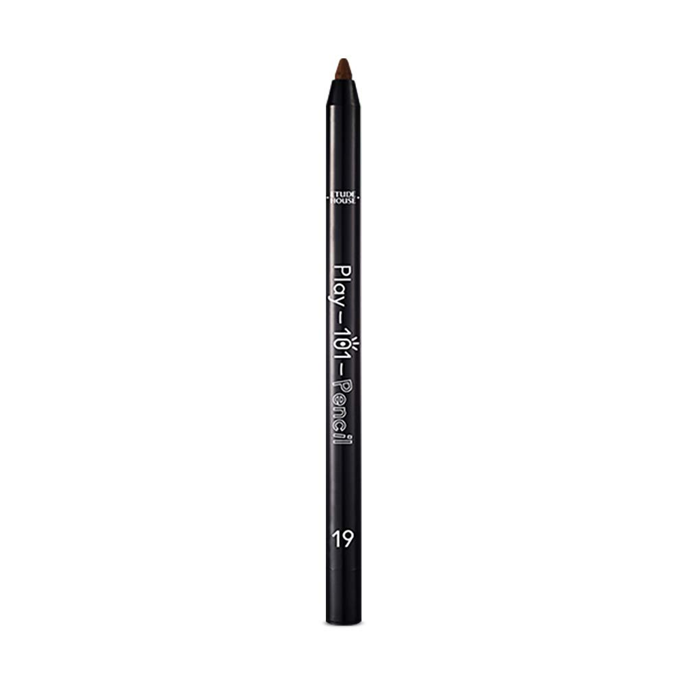 ETUDE HOUSE Play 101 Pencil AD (#19 MATTE)   Soft Gel Texture and Super Blendable Colorful Multi-Pencil for a Flawless and Long-Lasting Makeup   Smudge-Proof Kbeauty Liner