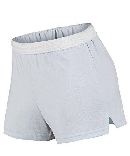 (Soffe Plus Size Juniors Curves Classic Cheer Short, Cloud Blue, 3X)