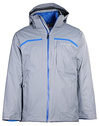 Columbia Men's Nordic Point II Interchange Jacket-Gray