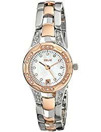 Women's Charlotte Silver & Rose Gold Two-Tone Watch ZR12118