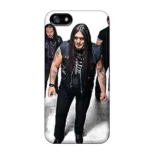 Iphone 5/5s QMj2260IJnR Unique Design Stylish Avantasia Band Pattern Protector Hard Phone Case -KevinCormack