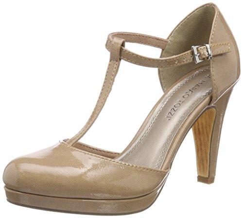 Donna Patent Marco Tozzi Chiusura a Scarpe con Rosa 24416 Candy T HT0wqTvgx