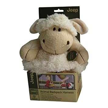 Amazon.com : Jeep Baby Backpack with Safety Harness, Sheep : Toddler