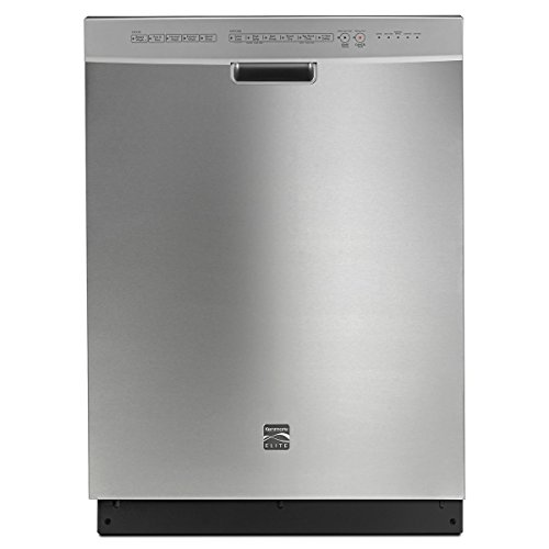 Kenmore Elite 14743 24″ Built-in Dishwasher 360 Degree PowerWash Technology and TurboZone in Stainless Steel, includes delivery and installation (Available in Select Cities)