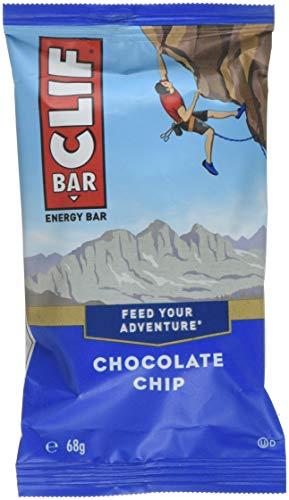 CLIF BAR - Barra de energía - Chips de chocolate - (Barra de proteína de 2,4 onzas, 12 unidades)
