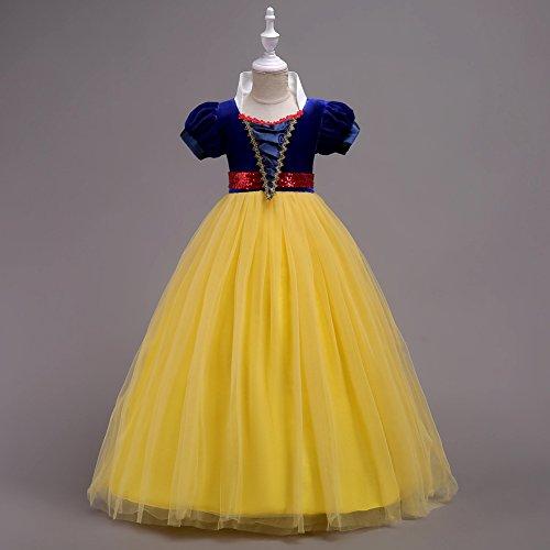 OBEEII Blancanieves Disfraz Carnaval Traje de Princesa para ...