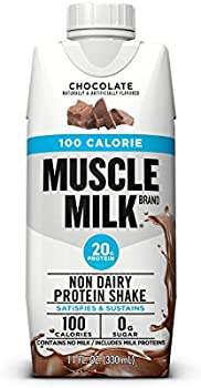 12-Count Muscle Milk 100 Calorie Chocolate Protein Shake
