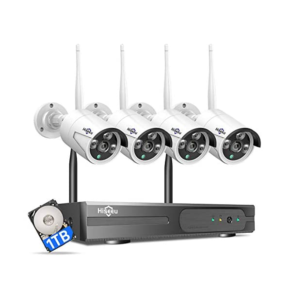 Hiseeu Wireless Security Camera System