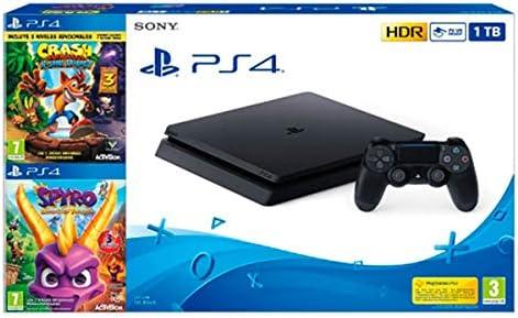 Sony Ps4 Slim 1Tb + Crash Bandicoot. N.Sane Trilogy + Spyro ...