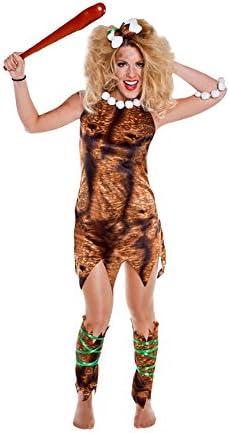 Disfraz de Troglodita para mujer: Amazon.es: Juguetes y juegos