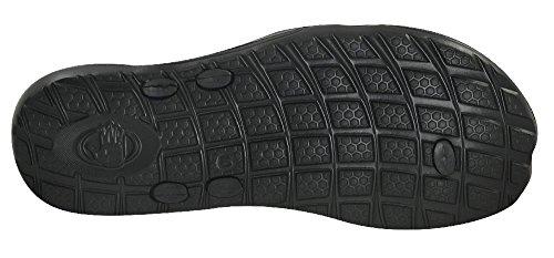 Body Glove Mens Kona Sandal Black/Tomato NdUU9y19NM