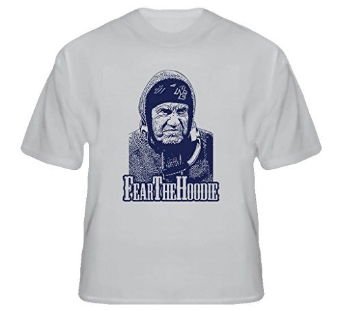 Brooklynsteez Mens Bill Belichick Fear The Hoodie New England Football T Shirt Xl Sport Grey