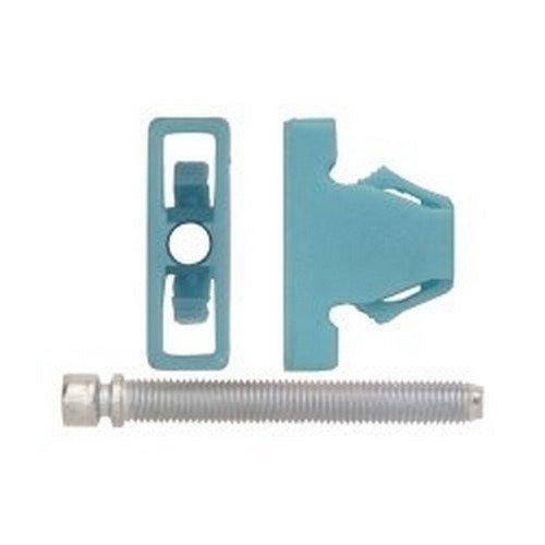 Adj Nut - ABD6702RX Headlight Adj. Screw Blue Nylon Nut 1/4-28 X 2 2/Pk, Size: 1/4-28