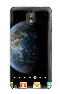 Note 3 Scratch-proof Protection Case Cover For Galaxy/ Hot Artistic Earth Free Edition Phone Case