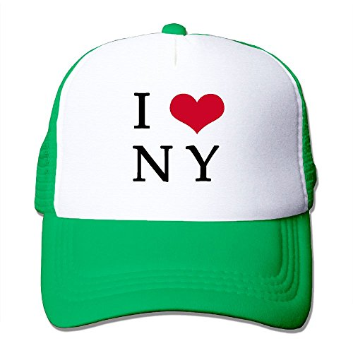 WHL00JAQ Custom Novelty Adult I Love NY Trucker Hats Caps (Supreme Locking Mailbox)