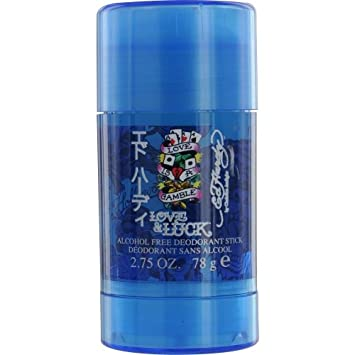 Ed Hardy Love & Luck By Christian Audigier Deodorant Stick Alcohol Free 2.75 Oz