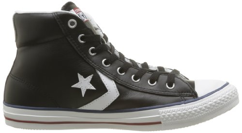 Converse Sp Core Lea Hi 289360-61-81 - Zapatillas unisex Negro (Schwarz (Noir/Blanc))