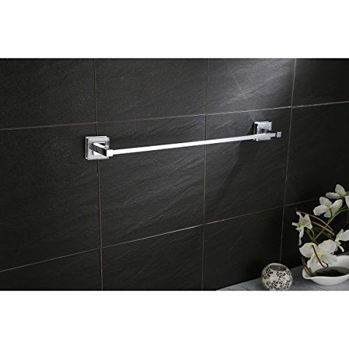 Ruvati RVA5006 Valencia 24 Towel Bar Luxury Bathroom Accessory, Crystal and Chrome by Ruvati (Image #4)