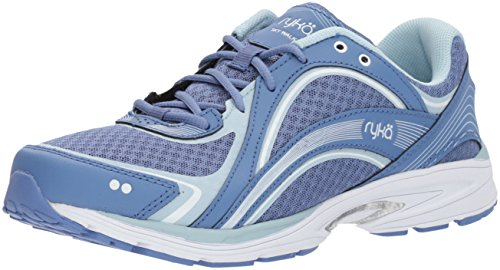 RYKA SKY WALK Walking Shoe, Colony Blue/Soft Blue/Chrome Silver, 10 W US