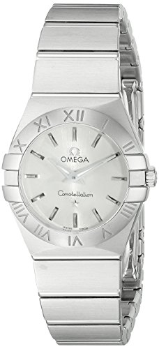 Omega Women's 12310246002001 Constellation Analog Display Swiss Quartz Silver (Omega Quartz Bracelet)