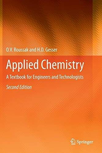 Applied Chemistry: A Textbook for Engineers and Technologists