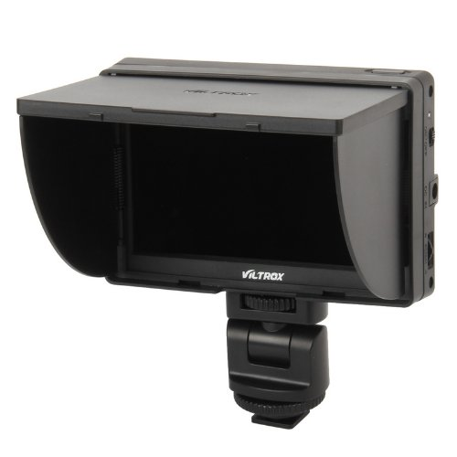Viltrox DC-50 Clip-on Portable 5' LCD Monitor with HDMI Video Input with Standard & Sony Shoes by VILTROX