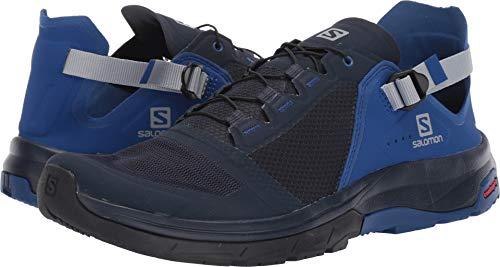 (Salomon Men's Techamphibian 4 Water Shoes, Navy Blazer/Mazarine Blue Wil/Quarry, 13 M US)