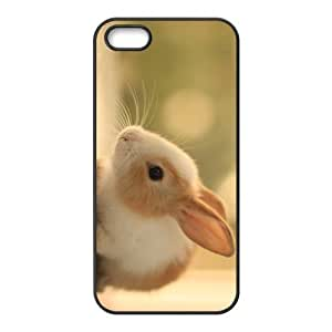 White Rabbit Hight Quality Plastic Case for Iphone 5s