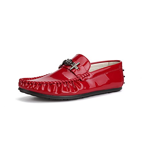 Classique Patins Voiture Casual Qualité De Chaussures Conduisant Haute Gules L'homme La Xinhao wq0OgI