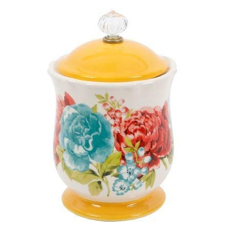 The Pioneer Woman Blossom Jubilee Sugar Pot, 5'' tall and 4'' in diameter