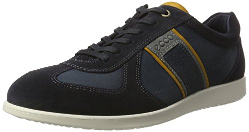 ECCO Men's Indianapolis Fashion Sneaker, Navy/Navy, 46 EU/12-12.5 M - Mens Indianapolis Warehouse