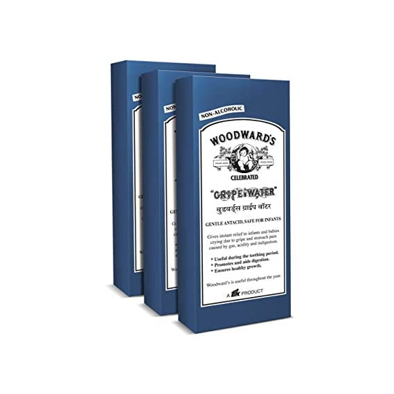 Woodward'S Gripe Water 200 Ml - Pack of 3 (Royal Blue)