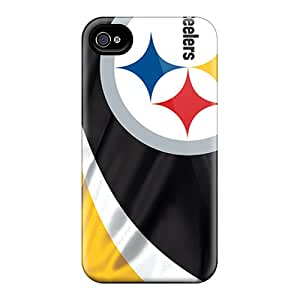 Iphone Case - Tpu Case Protective For Iphone 4/4s- Pittsburgh Steelers