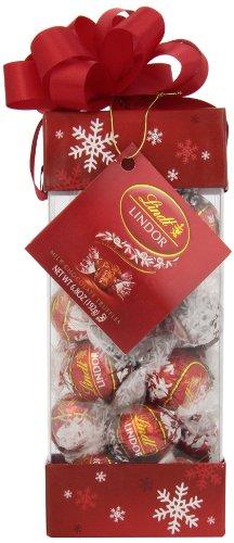 Lindt LINDOR Holiday Pinnacle Milk Chocolate Truffles, Kosher, 6.8 Ounce Gift Box